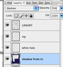 Shadow layer (from TV)