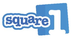 square 1 blue